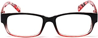 Aiweijia Reading Glasses Fashion Men Women Spring Hinge Readers +1.0 to +4.0