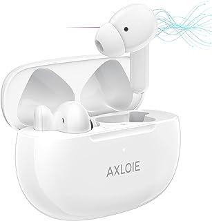 AXLOIE Cuffie Bluetooth, ANC Auricolari Wireless con Cancellazione Attiva Rumore, Auricolari In-Ear Ottimo Suono con Chiam...