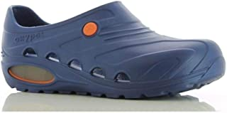 Safety Jogger Lightweight Clog Women - Slip On Clog for Men, Anti-Slip, Anti-Bacterial, Anti-Static and Anti-Fungal, Navy ...