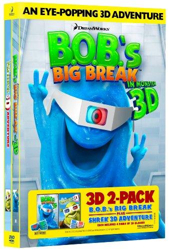 Bob's Big Break & Shrek 3d [DVD] [Region 1] [US Import] [NTSC]