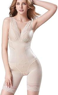 الجسم الكامل للنساء ملابس داخلية لتشكيل الجسم تحت الصدر تنحيف منتصف الفخذ مشد البطن سلس بعد الولادة وسادات كبيرة (اللون : ...