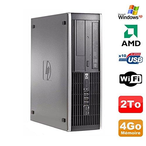 HP PC Compaq 6005 Pro SFF AMD 3GHz 4GB DDR3 2To SATA Grabador WiFi Windows XP