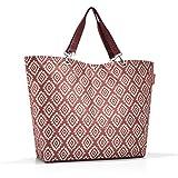 reisenthel shopper XL Bolsa de tela y playa, 68 cm, 35 liters, Rojo (Diamonds Rouge)