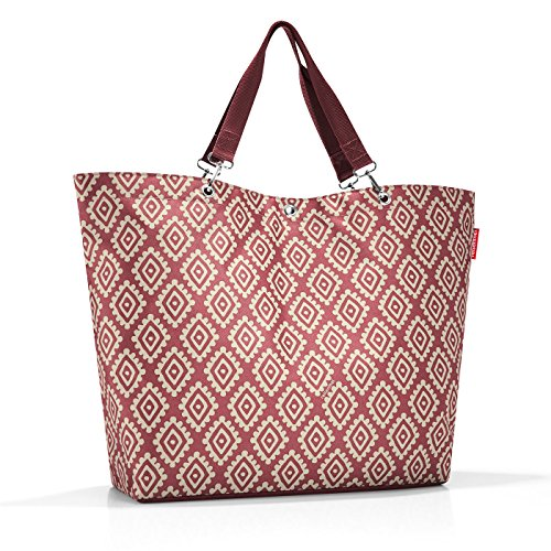 reisenthel shopper XL 68 x 45,5 x 20 cm / 35 l / diamonds rouge