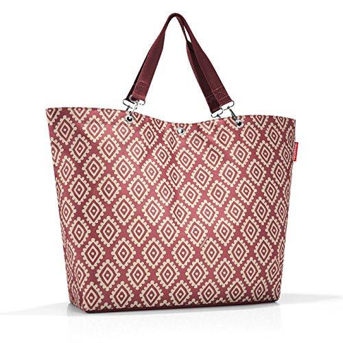reisenthel shopper XL 68 x 45,5 x 20 cm / 35 l / diamonds rouge