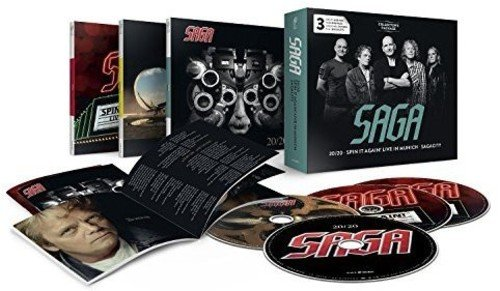 20/20/Spin It Again - Live In Munich/Sagacity - Collector's Package (4CD)
