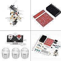 スピーカー パーツ 耐久性 サブウーファー パワー アンプ ボード、3 チャンネル 2.1 アンプ回路基板、DIY パーツ パッケージ用