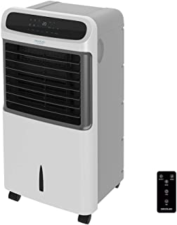Cecotec Climatizador Evaporativo EnergySilence PureTech 6500. Doble Funci—n Frio / Calor, gran Caudal 600 m_/h, 12l de Capacidad, Temporizador hasta 8 Horas, Mando a Distancia, 3 Velocidades, 80W