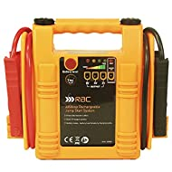 RAC 400 Amp Rechargeable Jump Start System HP082 - For Car Batteries up to 1500cc Petrol or 1200cc D...