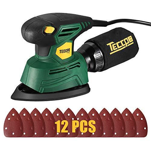TECCPO DIY-TAMS22P Mouse Detail Sander