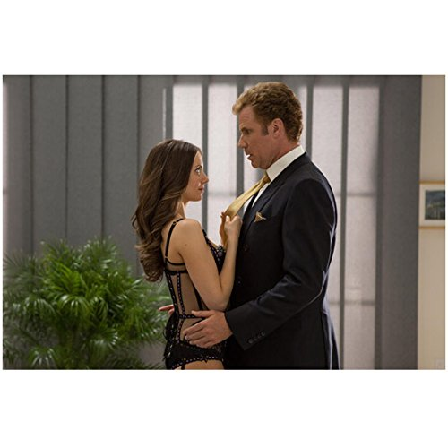 Will Farrell 8 inch x 10 inch Photograph Get Hard (2015) Arms Around Alison Brie kn