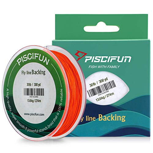 Piscifun Braided Fly Line Backing
