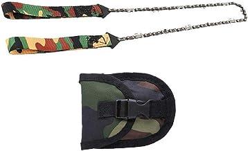 Bolsillo de la supervivencia de la motosierra a mano plegable Saw cadena de sierra de mano para cortar madera herramientas de uso Senderismo supervivencia Mano