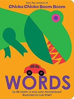 Words (Chicka Chicka Book, A) by [Bill Martin Jr, John Archambault, Lois Ehlert]