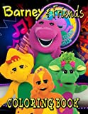 Barney And Friends Coloring Book: 43 Barney and Friends illustrations. A Perfect Gift For Kids And Adults