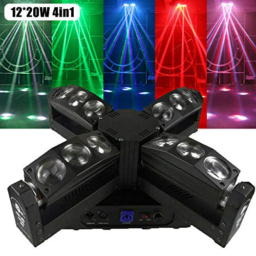 350W Spider Moving Head Bühnenlicht RGB Beam DMX Stage Lighting DJ Disco KTV