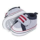 Sterntaler Baby-Schuh, First Walker Shoe Unisex bebé, Color Plateado, 17 EU