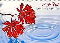 ZEN - Kraft der Stille (Wandkalender 2022 DIN A3 quer): Ein meditativer Wandkalender mit 13 grossformatigen Abbildungen (Monatskalender, 14 Seiten )