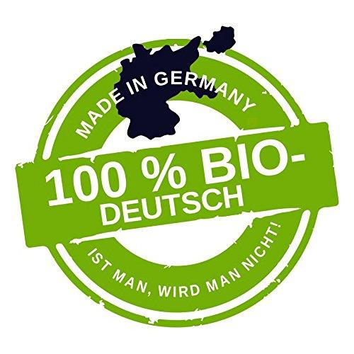 Aufkleber / Sticker - 100 % Bio-Deutsch (Aufklber-Set 10 Stück), Integration, Multikulti, Merkel, Not welcome