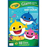 CRAYOLA 04-0936 Giant Coloring Pages Baby Shark