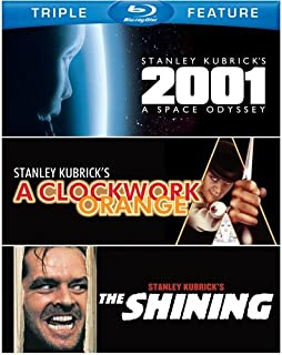 Stanley Kubrick Triple Feature: (2001: A Space Odyssey / A Clockwork Orange / The Shining)