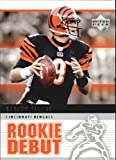 2005 Upper Deck Rookie Debut #19 Carson Palmer NFL Football Trading Card. rookie card picture