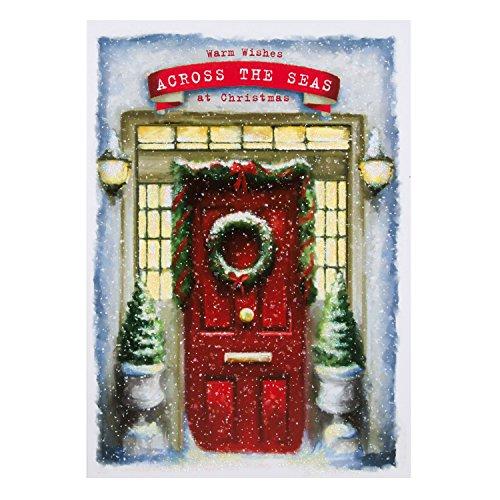 Hallmark Weihnachtskarte für die Übersee
