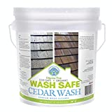 Wash Safe Industries CEDAR WASH Eco-Safe and Organic Wood Cleaner, 10 lb. Container, Clear