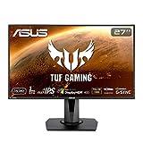 ASUS ゲーミングモニター TUF Gaming VG279QM 27インチ/フルHD/IPS/280Hz/1ms/HDR/HDMI×2,DP/G-SYNC Compatible/ELMB/スピーカー/3年保証