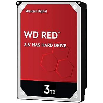 "Western Digital 3TB WD Red Plus NAS Internal Hard Drive - 5400 RPM Class, SATA 6 Gb/s, CMR, 64 MB Cache, 3.5"" - WD30EFRX"