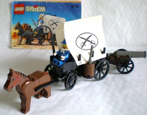 LEGO System Western 6716 Planwagen