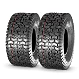 MaxAuto 15x6.00-6nhs Lawn Mower Tires, 4PR, P512, Set of 2