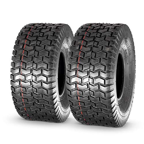 MaxAuto 15x6.00-6nhs Lawn Mower Tires, 4PR, P512, Set of 2