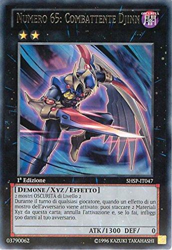 YU-GI-OH! - SHSP-IT047 - Numero 65: Combattente Djinn - Spettri dell'Ombra - 1st Edition - Rara
