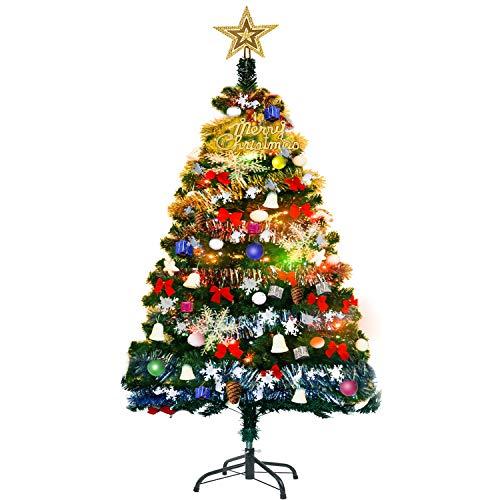 YACONEクリスマスツリー150cm高級ツリー180cm電飾つきセットかわいいクリスマスグッズインテリア用品クリスマスプレゼントに最適おしゃれ高級クリスマスツリー