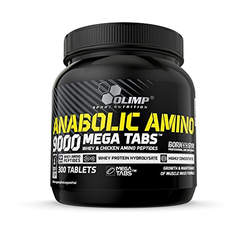 Olimp Anabolic Amino 9000 Mega Capsules - Pack of 300 Tablets