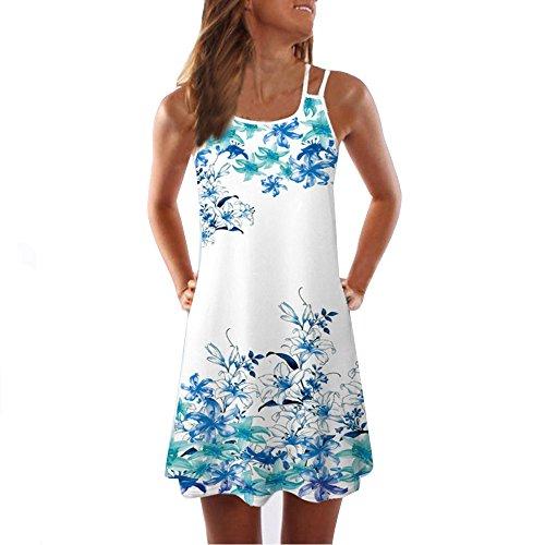 Damen Kleid Abendkleid Damen Notizen bedrucktes Kleid Weihnachten Elegantes Blumenkleid Damen Retro EIN Wort Kleid 60er Jahre Rockabilly Blumenrock