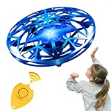 GALOPAR UFO Drone Toys for Kids, Flying Drone Hands Controlled for Kids As Gifts, USB Rechargeable with LED Lights, Hands-Free and Infrared Induction Interactive.