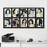 TBWPTS Wandmalerei Leinwand Gemälde Mick Jagger Poster Und