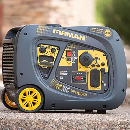 Firman W03081 3300/3000 Watt Recoil Start Gas...