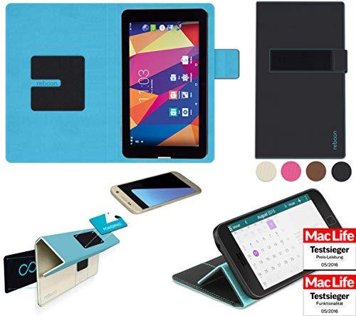 reboon Hülle für Captiva Pad 7 3G Kommunikator Tasche Cover Case Bumper | in Schwarz | Testsieger