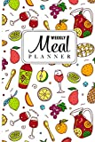 Weekly Meal Planner: grocery list magnet pad for fridge dry erase 52 Weeks of Menu Planning Pages with Weekly Grocery Shopping List Track And Plan ... list dual purpose weekly meal planner