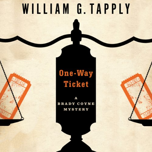 One-Way Ticket audiobook cover art