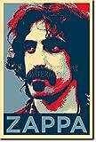 TPCK Frank Zappa Kunstdruck (Obama Hope Parodie) Hochglanz