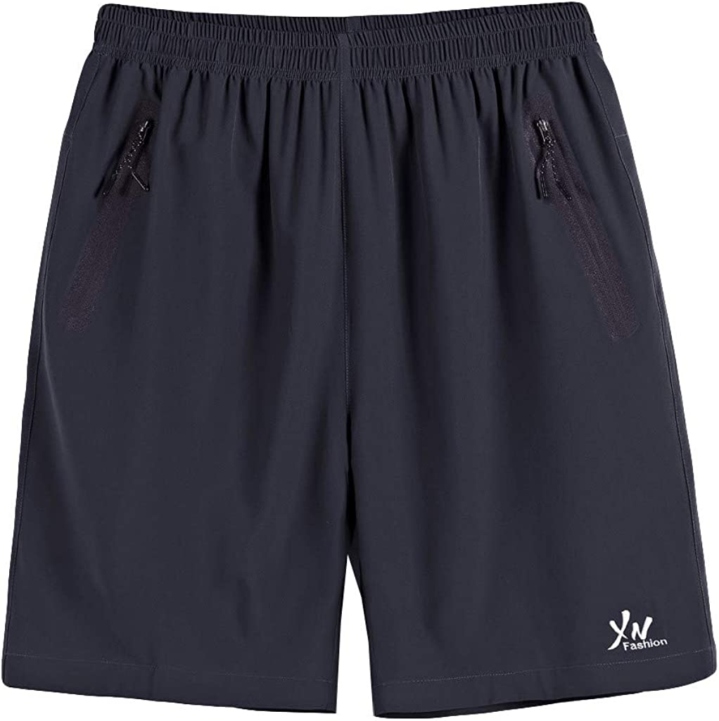 Hmlai Clearance Men Swim Trunks Big and Tall Summer Quick Dry Thin Beach Bathing Suits Casual Sports Shorts with Pockets