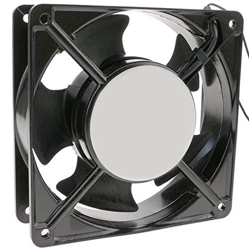 BeMatik - Ventilador de chasis 120x120x38 mm de 220 VAC para caja de ordenador con rodamiento de bolas