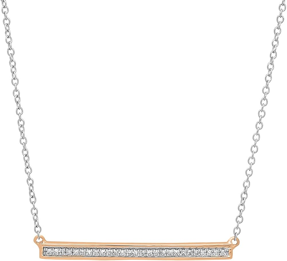 Super popular specialty store Dazzlingrock Collection 0.12 Max 82% OFF Carat ctw 14K Diamond White Gold