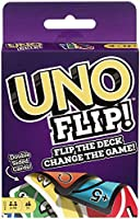 Mattel Games GDR44 UNO FLIP Family Card Game, with 112 Cards