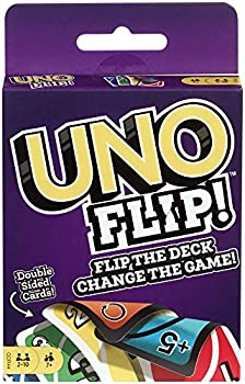 UNO FLIP! Family Card Game with 112 Cards Makes a Great Gift for 7 Year Olds and Up
