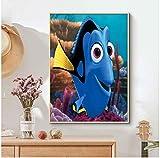 shifangtrade Leinwand Poster Findet Nemo Cartoon Film Tv